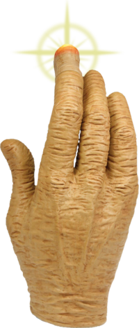 E.T. - The Extra Terrestrial LED leuchten Hand Prop Replica