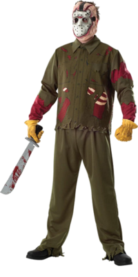 Adulte Deluxe Jason Voorhees costume - Vendredi 13