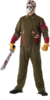 Deluxe Jason Voorhees adult costume Friday the 13th