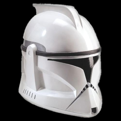 Clonetrooper Helmet/Mask Moulded 2pc plastic helmet The Star wars Clone