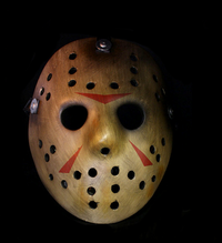 Jason Voorhees - Prop Replica hockey Mask - Limited stock - Masks, Realistic, Horror, Scary, Latex, Halloween, Spfx :  friday the 13th jason horror fibreglass