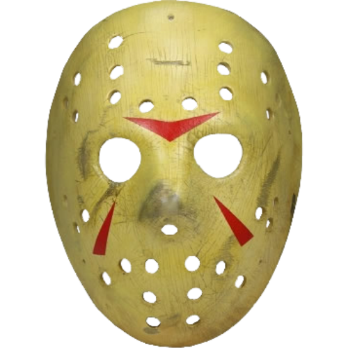 El viernes 13 parte 3 Jason hockey mask prop replica