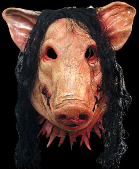 Saw pig horror mask Deluxe version - Halloween