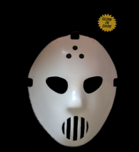 Hockey mask Glow in the dark
