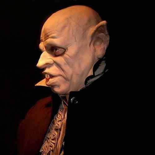 MASQUE NOSFERATU DRACULA D'HORREUR DE LATEX - masques, halloween, latex, horreur, effrayante, :  zombie dracula mask halloween