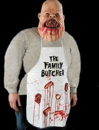 The Butchers gory apron - Halloween horror costume