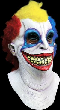 Frisky la maschera in lattice clown horror di Halloween