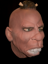 Cannibal horror realistic mask