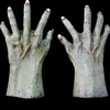 Monster / Zombie hands green Large