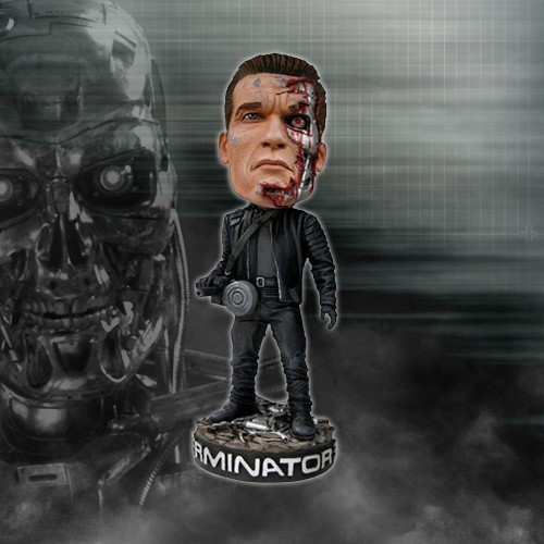 Terminator Head Knocker  Arnie T3