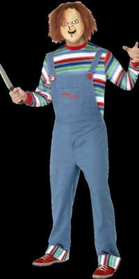 Licensed Chucky costume with mask