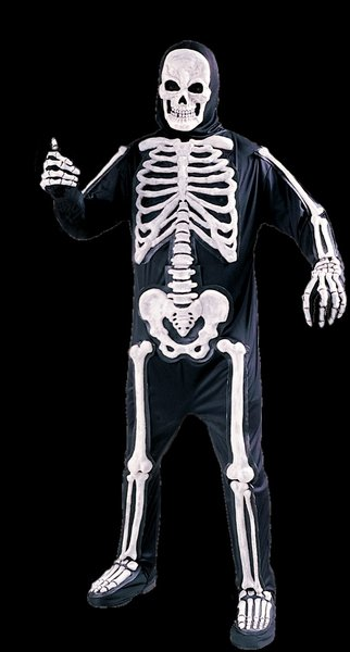 Skeleton Adult Costume  Reaper style
