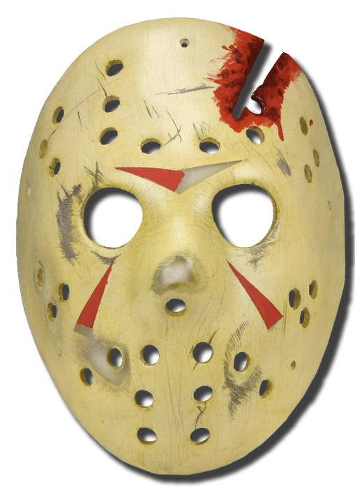 Friday The13th Mask Part 4 Jason Hockey Mask Prop Replica
