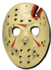 Jason Voorhees hockey mask replica 'FRIDAY THE 13TH'  4
