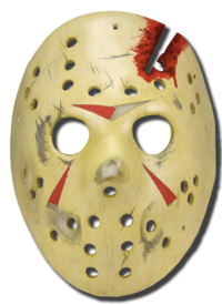Jason Voorhees - hockey mask replica Friday the 13th mask part 4