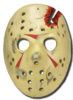 Friday 13th part 4 hockey mask replica