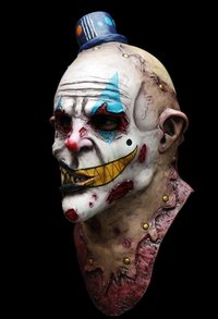 Dead mouth the clown -  Full head clown mask