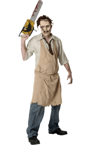 Leatherface chainsaw massacre costume