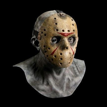 Máscara Jason Voorhees del horror del látex