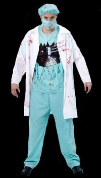 Bloody Surgeon adult  Costume