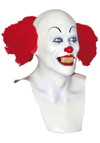 Pennywise der Clown - Scary Clown-Maske