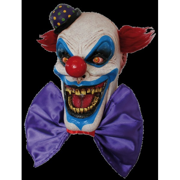 Big bow the clown mask - Halloween