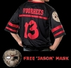 Jason Voorhees shirt with mask Friday the 13th Halloween