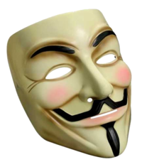 V for Vendetta film mask