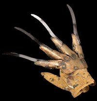 Freddy Krueger metal glove - Deluxe Metal version - Masks, Realistic, Horror, Scary, Latex, Halloween, Spfx