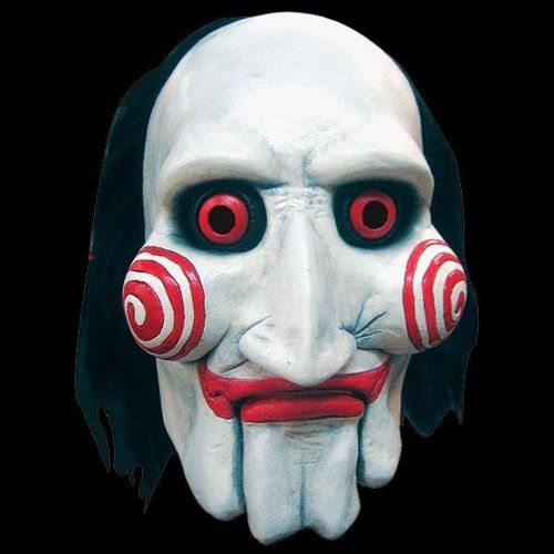 Saw puppet horror mask - Jigsaw - Halloween masks, horror masks, scary masks, latex masks, realistic masks saw mask latex halloween mask :  3 jigsaw saw mask