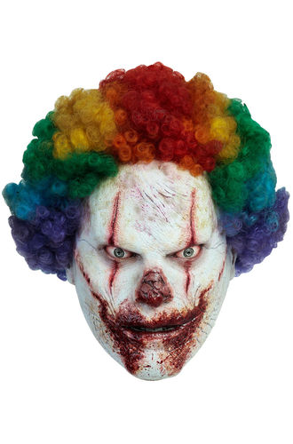Clown Gesichtsmaske