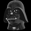 Darth Vader - Casco con máscara de Star Wars con licencia