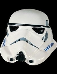 Casco de la máscara de Storm trooper