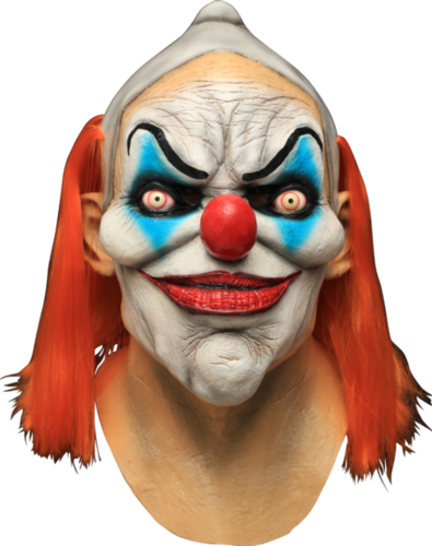 Horrormaske Clown Latexmasken