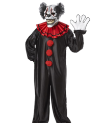 Demon clown costume - Moving mouth