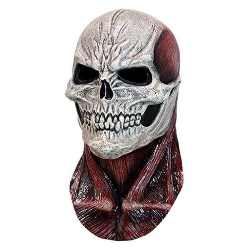 Red skull Latex horror mask - Halloween