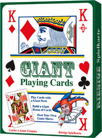 Huge A4 Sized Playing Cards - Gadget