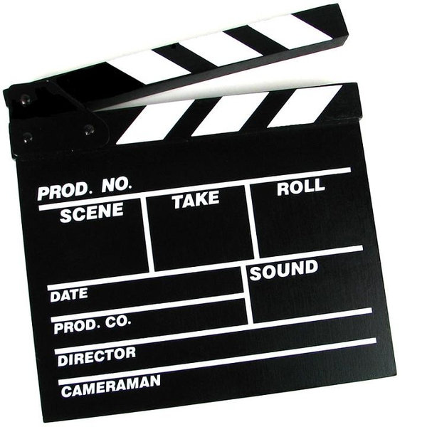 movie clapperboard - for movie making