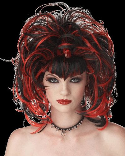 Gothic  Wig sexy lady witch vampire
