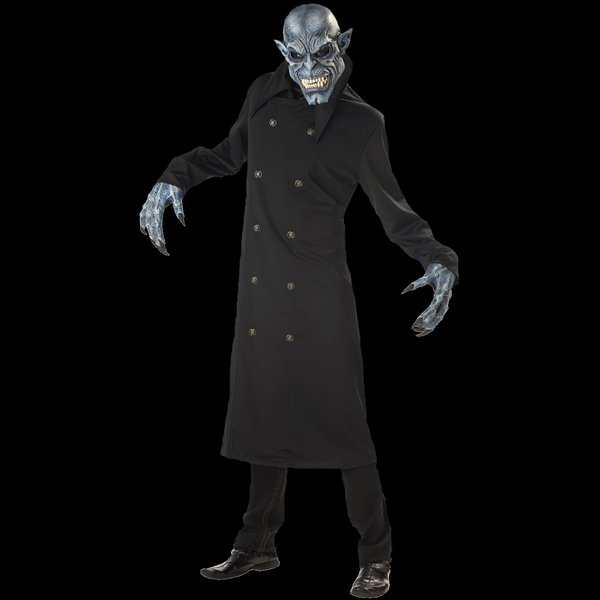 Nosferatu Costume and mask - Moving Mouth