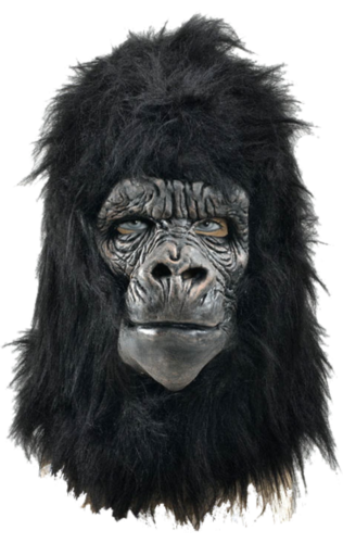 masque de singe de gorille de latex
