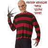 Freddy Krueger costume - mask + glove + shirt -