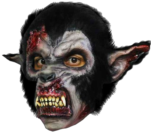 Wolfman horror mask