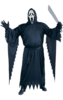 Scream robe costume and mask - Halloween