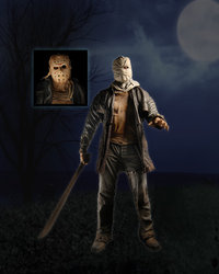 "Friday The 13th (2009) 19"" Jason Figure"