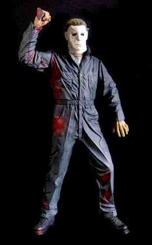 "Halloween Michael Myers 18""dello zombie"