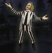 Beetlejuice 18-Inch Action Figure ex display