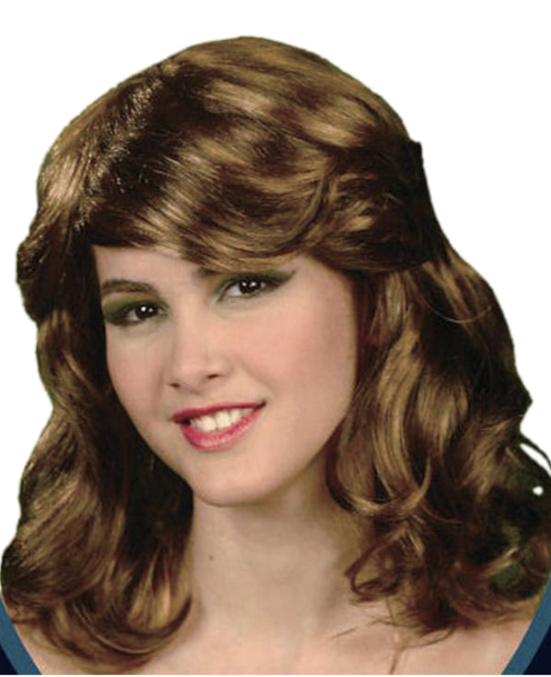 Wig Glamour style - deluxe brown