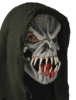 Horror mask 'Evil' with hood
