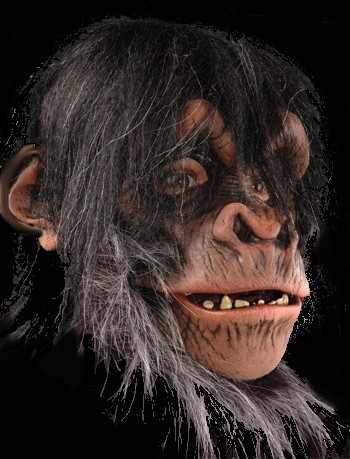 Ape mask Realistic chimp Moving mouth
